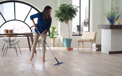 Dicas para tornar a limpeza do piso mais rápida